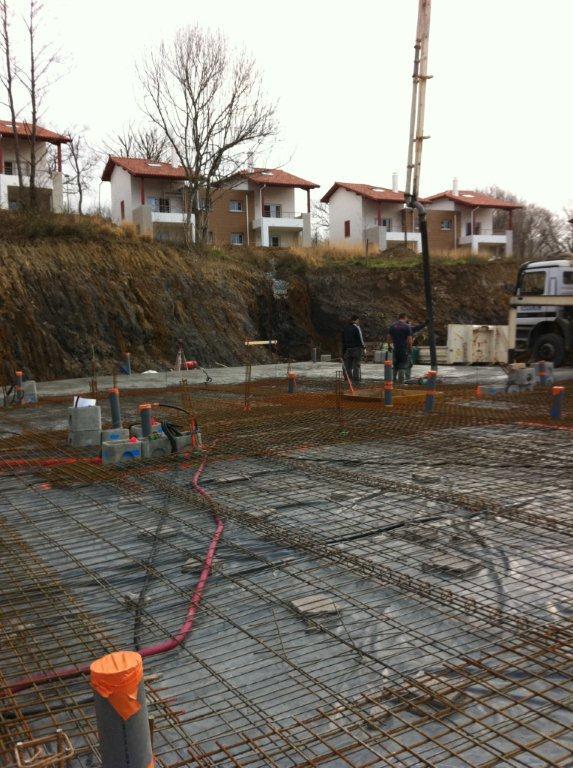 Construction d'un bâtiment professionnel