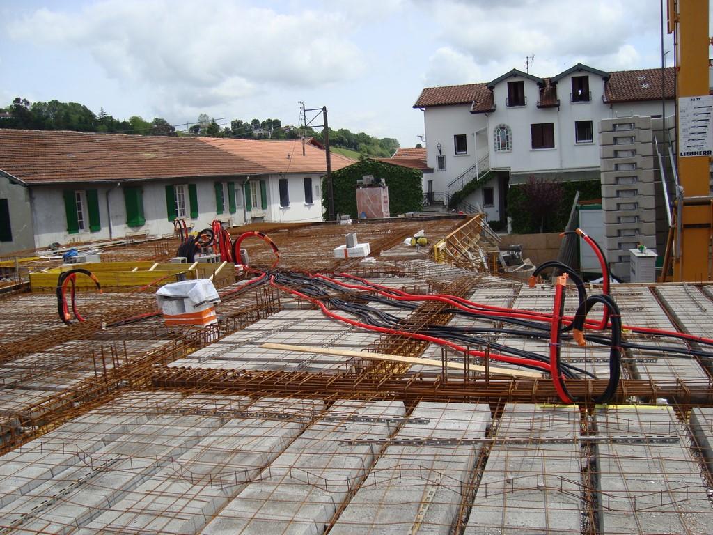 Construction d'une résidence à Hasparren