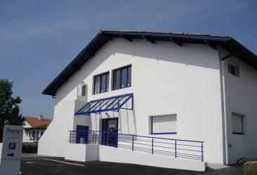 Rénovation d'un bâtiment public à Saint Jean de Luz