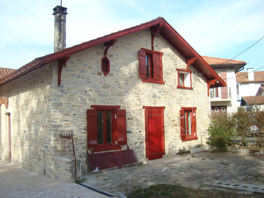 Rénovation d'une maison basque