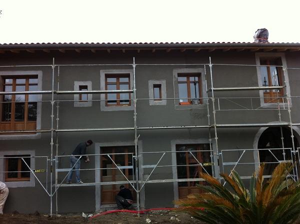 Rénovation d'une villa Basque