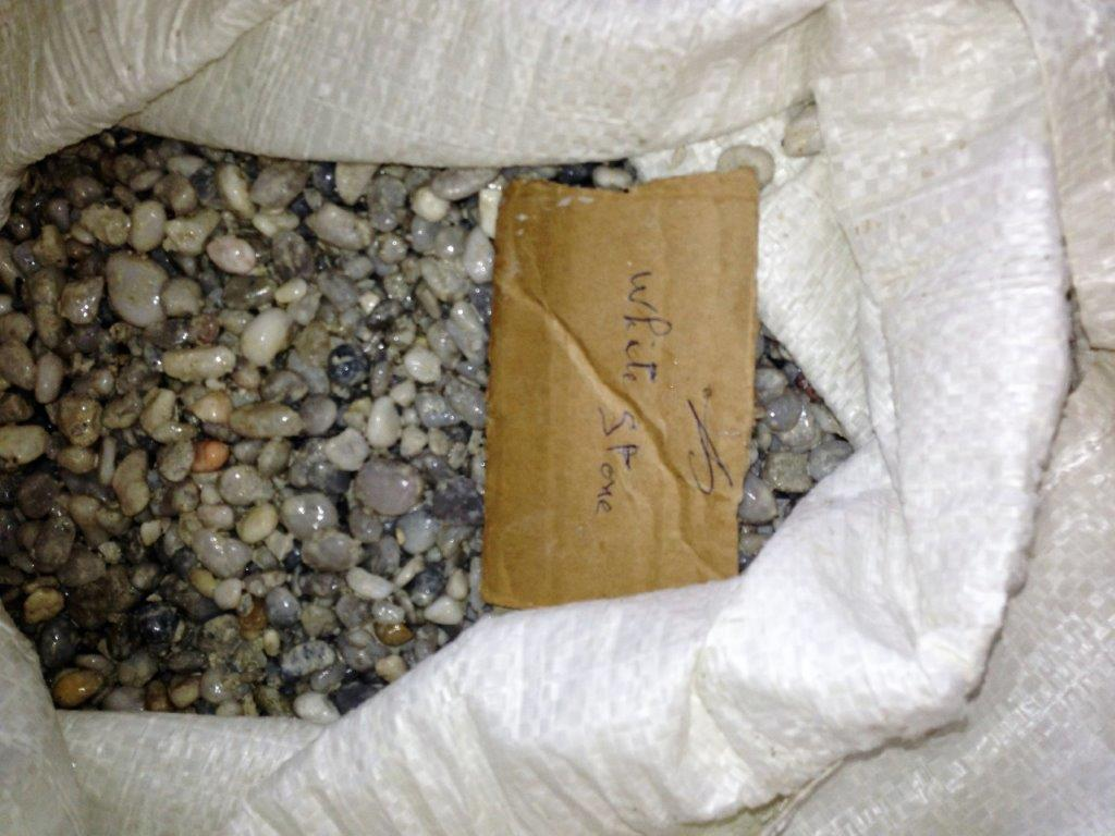 "Béton ciré ""White stone"""