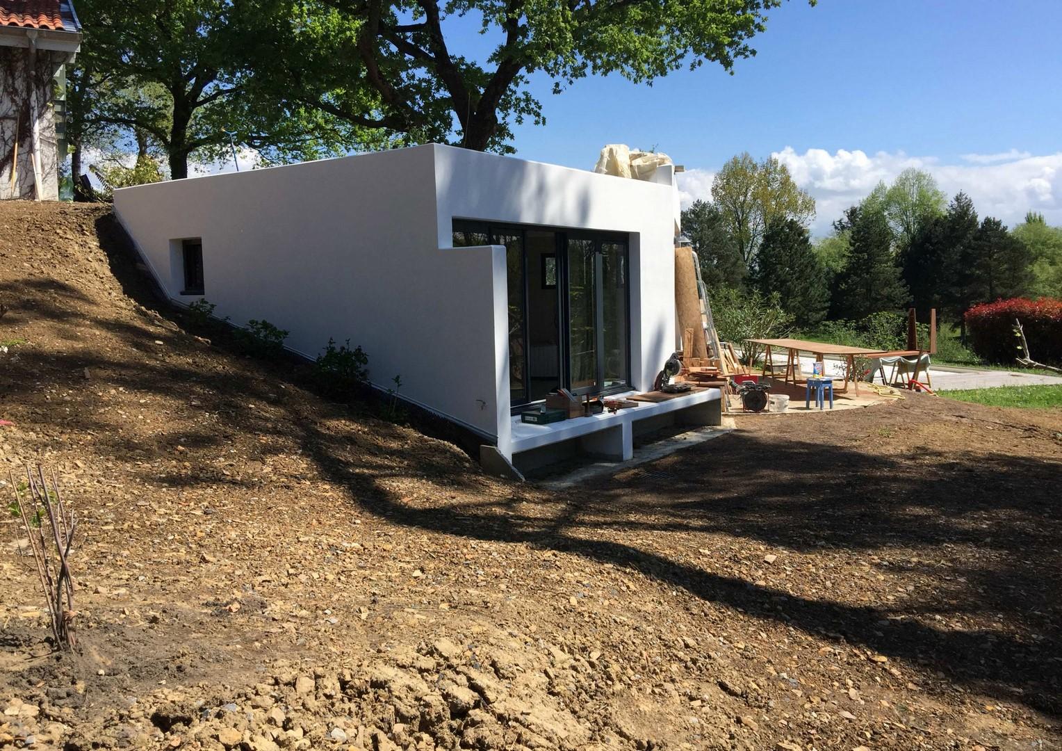 Nos r alisations constructions neuves for Annexe maison