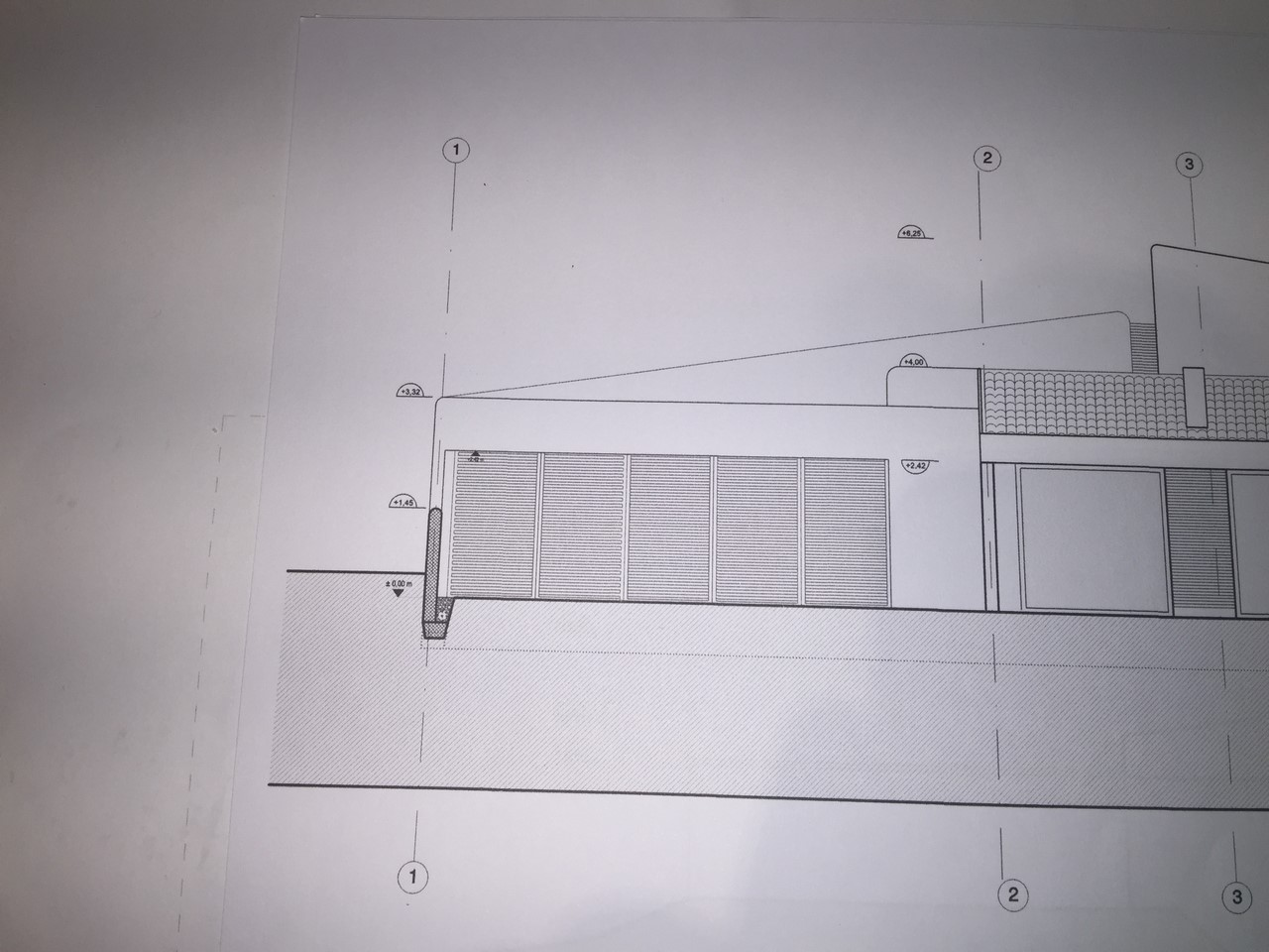 Plan de construction d'une villa moderne Basque à Bidart