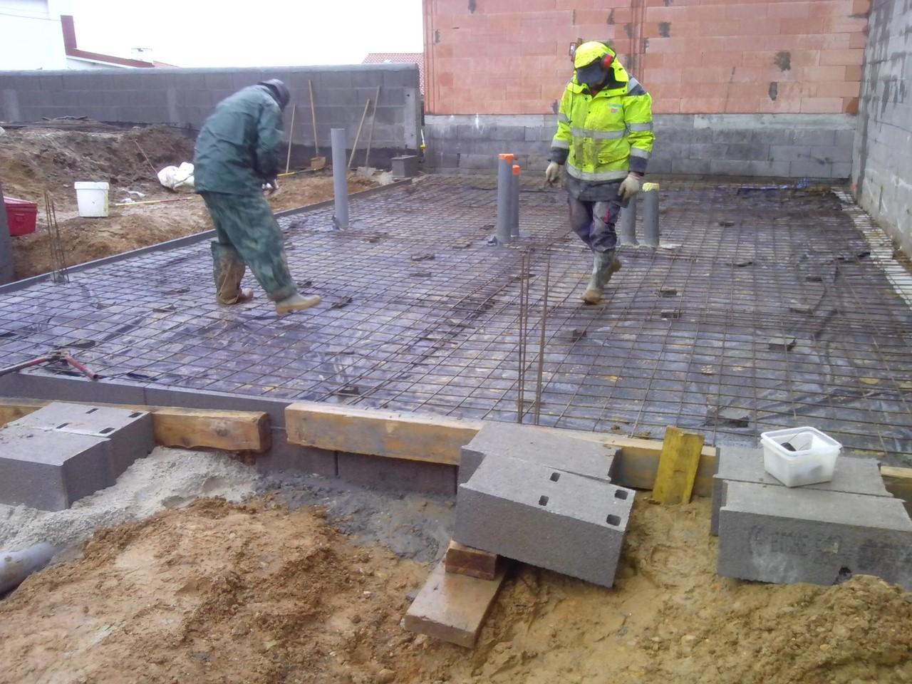 Construction d'une villa moderne Basque à Bidart