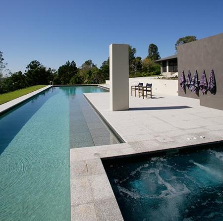 Mod le de piscine - Couloir de nage interieur ...