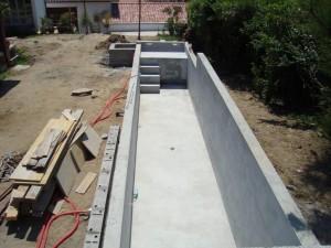 Construction d'une piscine à Ascain