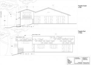 Permis de construire d'une extension de maison à Guethary