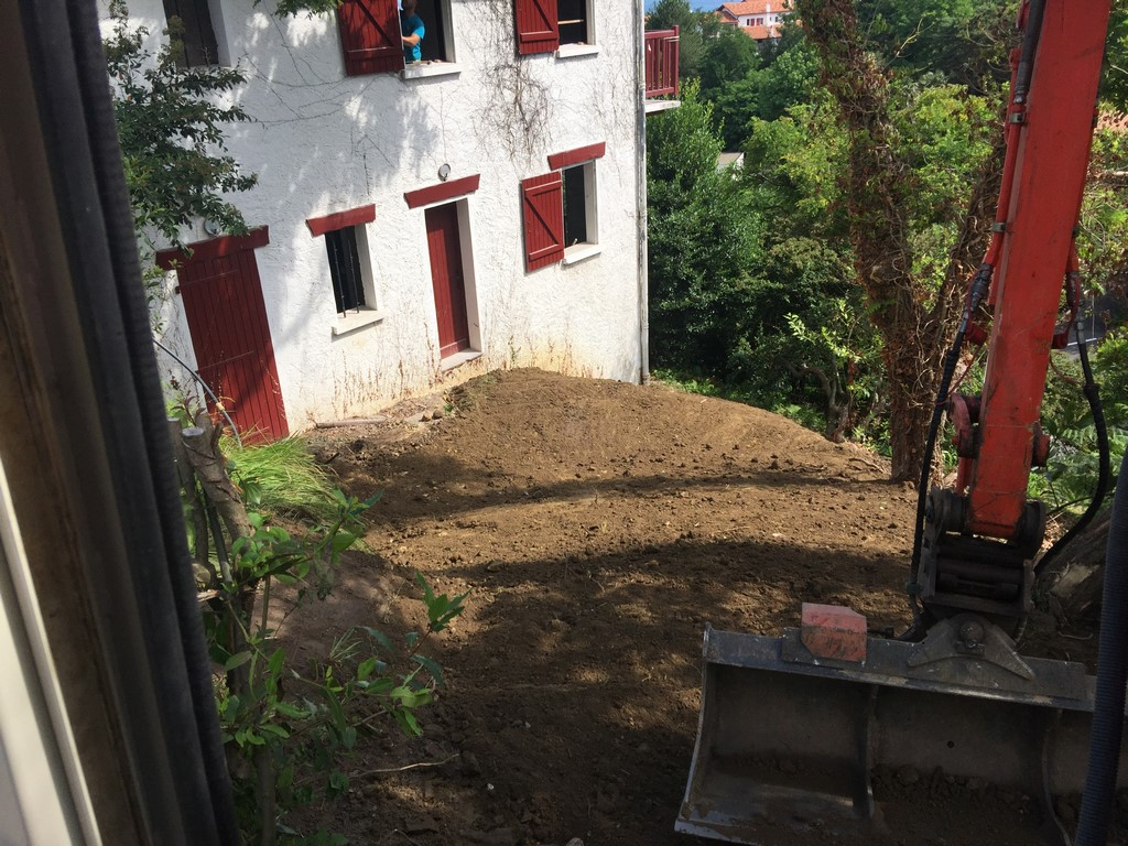 Rénovation d'une villa Basque à Ciboure