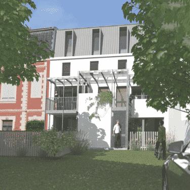 Rénovation et extension d'un immeuble de caractère à Biarritz