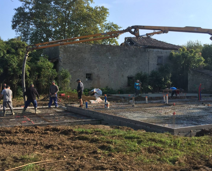 Construction d'une villa basque avec piscine à Arcangues
