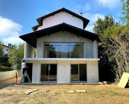 renovation fin travaux villa 1