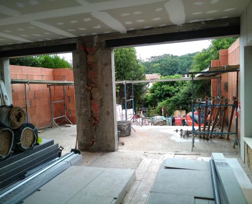 renovation travaux villa 17