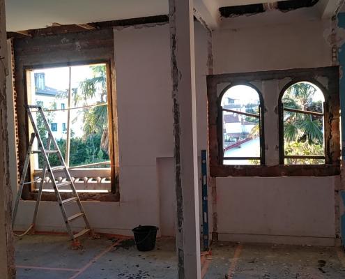 renovation travaux villa 4